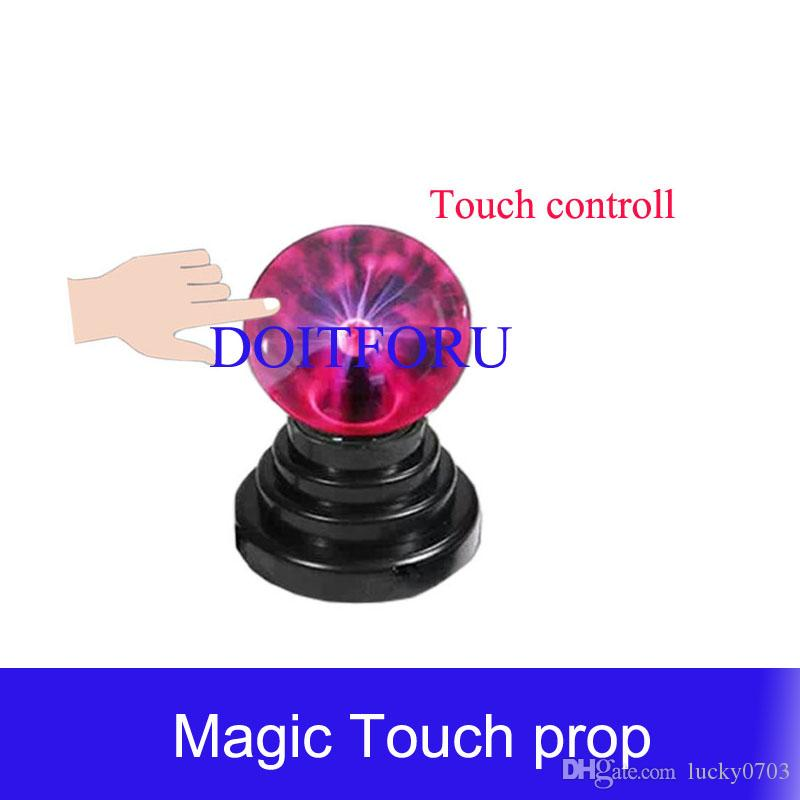 Access Control Escape Room Magic Plasma Ball Mysterious Puzzle For Chamber Room Touching Ball For Certain Time To Unlock Escape Game Prop