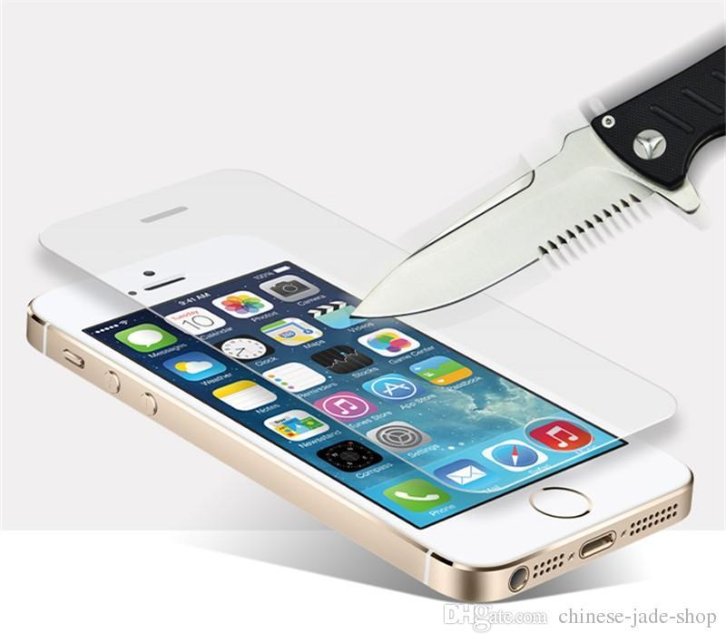 Protecteur d'écran en verre trempé 9H pour iPhone 12 11 PRO Max x XR XS MAX 6 6S Plus 7 8 Plus /