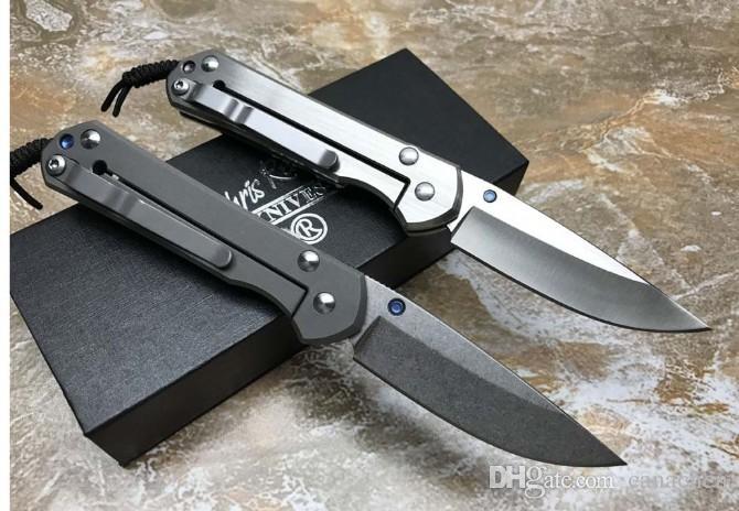 Chris Reeve Sebenza 21 folding knife Stonewashed D2 Blade Titanium Outdoor Camping Hunting Survival Pocket EDC Tool