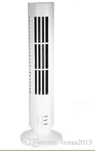 Mini USB Fan Klima fanı Ofis / Ev Aletleri Kule Fan Masaüstü Çift Bladeless Taşınabilir FANS