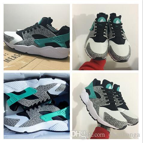 Wholesale 2017 New Air Huaraches Atmos Elephant Print sports shoes for men women breathable hurache athletic running footwear cheap trainer clearance low price free shipping sale browse sale online Bc7zA