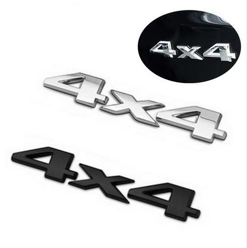 3d 4x4 Allrad Auto Aufkleber Logo Emblem Abzeichen Aufkleber Auto Styling Diy Dekoration Zubehör Für Frod Bmw Lada Vw