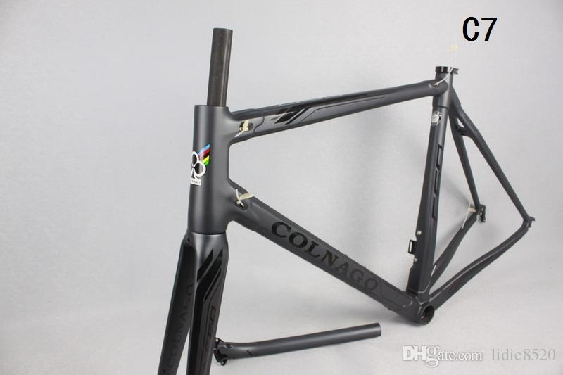 3K Glossy 2016 New bicycle frameset M 960g carbon road frame newest DI2 carbon road frames super light