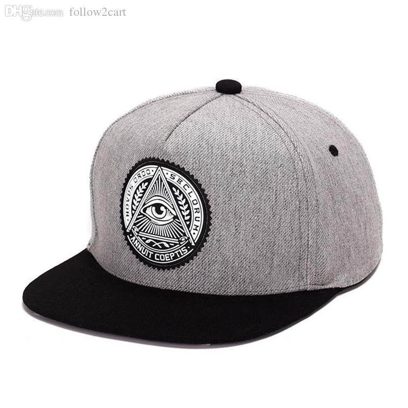 High-grade Cotton Flat Brim Baseball Cap Snapbacks Shark Embroidery Fashion Hip Hop Hiphop Hat Man Male Lady Visor Sun Hats