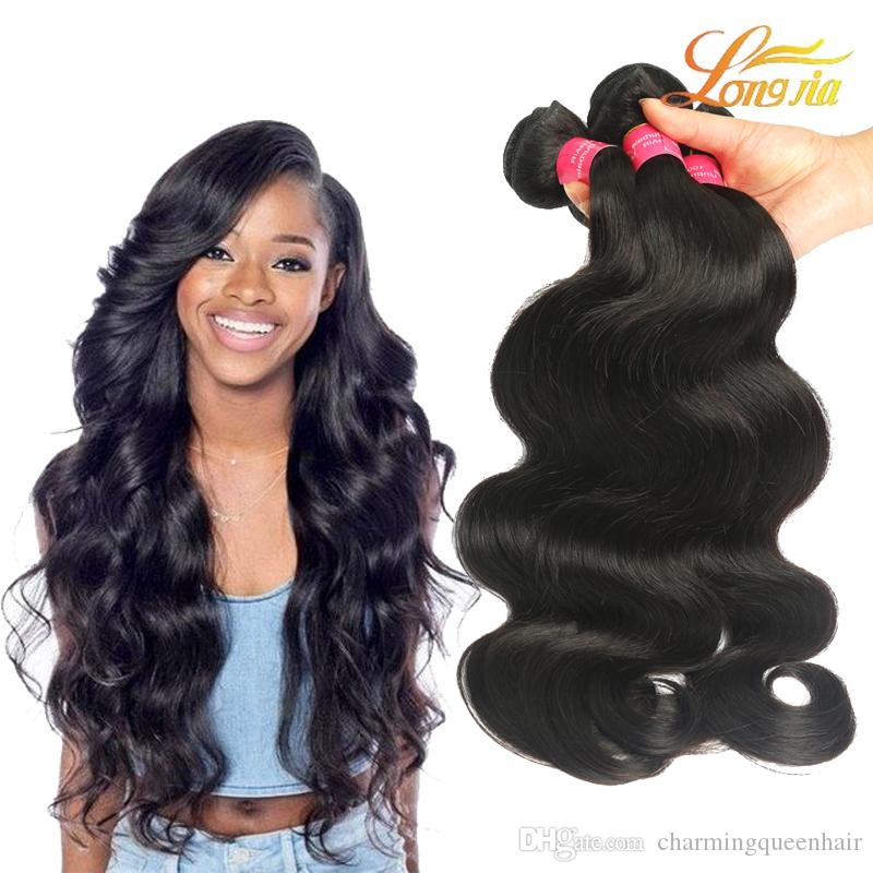 100 Human Hair Extension Body Wave Wholesale Price Indian Virgin