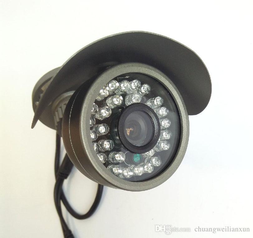 Gözetim kamera AHD 720 P Su Geçirmez IR-CUT filtre Gece görüş açık 1.0MP bullet AHD Kamera güvenlik sistemi Kamera ile braketi