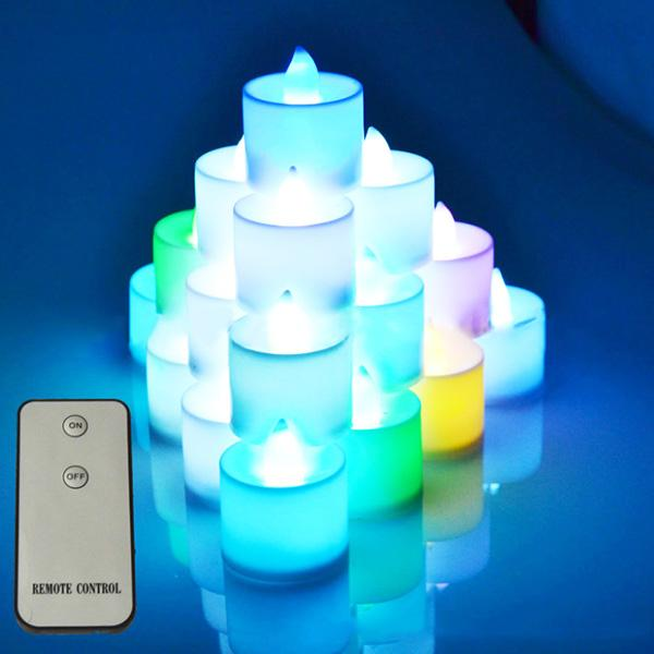 battery operated candles remote controlled led decorative lights for lighting up vase lights fall candle scents