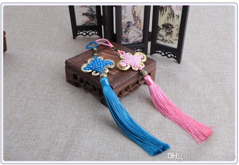 Chinese Knot Tassel silk fringe bangs tassel trim decorative Garment for curtains home decoration accessories ZGJ02