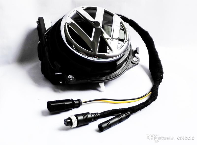 2019 For Vw Volkswagen Rotating Car Rear View Camera Vw Logo
