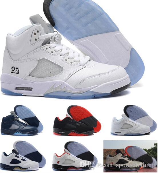 buy popular f7f72 f363e High Quality Retro 5 OG Black Metallic Men Women Basketball Shoes 3M  Reflective Effect Sup 5s Sneakers With Shoes Box