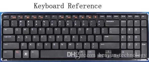 ملون لوحة المفاتيح حامي غطاء الجلد ملصقات لوحة المفاتيح لديل انسبايرون 15R-5521 15-3521