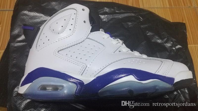 VI 6S chaussures de basket pour hommes et femmes Sports Bleu chaussures de sport en plein air Basket bottes 6 sneaker Taille haute TAILLE 36-47
