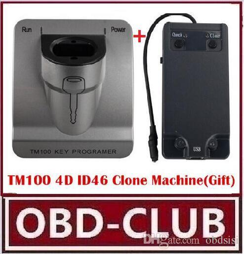 New Release V3 48 TM100 Transponder Key Programmer ID46 Cloner K ey Program  ,Car Key programming machine TM 100 KEY COPY TOOL