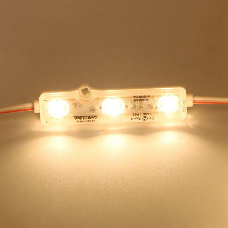 IP68 حقن led وحدة 5630 1.5W 3leds تسجيل الخلفية للماء الأحمر الأبيض أزرق 12 فولت 60lm كل الإعلان ضوء 600 قطع الكثير