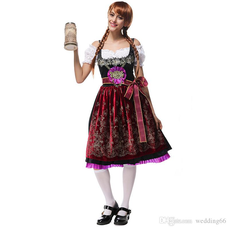 Bavarian National Traditional Clothing German Oktoberfest Cosplay ...