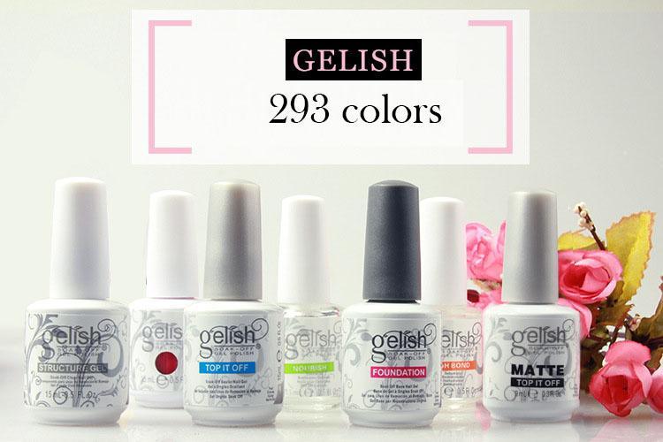Soak Off Nail Gel Polish For Nail Art Gel Lacquer Led Uv Harmony