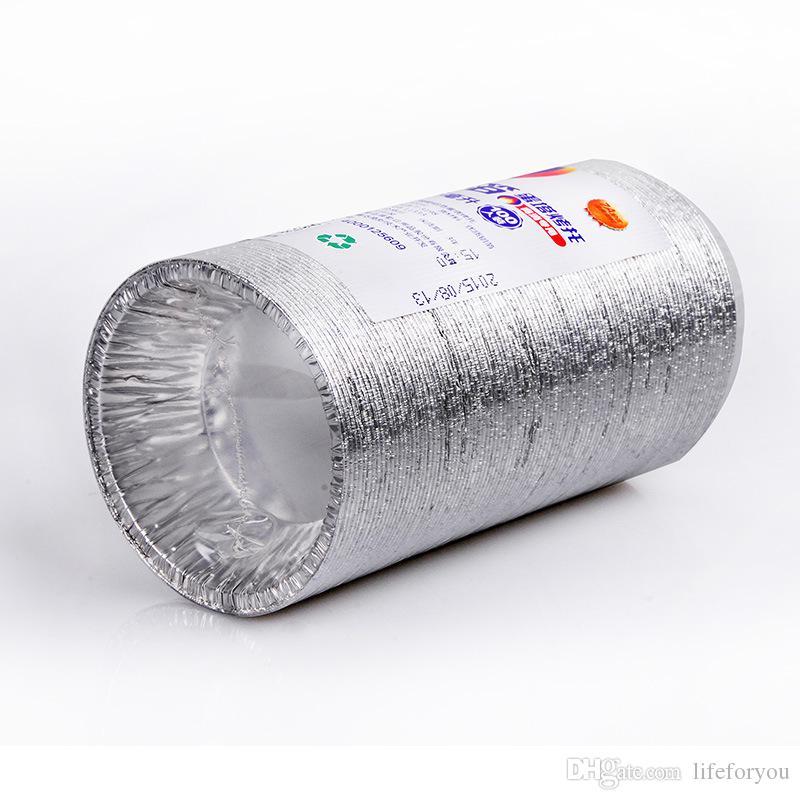 ميني كب كيك الكؤوس الخبز، قوالب البيض لاذع القصدير، كوكي كعكة قالب اصطف تين الخبز أداة يمكن التخلص منها رقائق الألومنيوم، والقدرة 55 ML، 100 حزمة