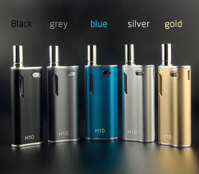 Newest H10 Oil BUD Starter Kit With Upgraded CE3 Atomizer Cartridges 650mah Box Mod Vape Pen Magnetic Vaporizer