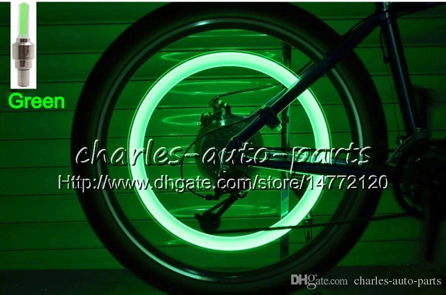 1USD LED Flash Pneu Lumière Vélo Roue Valve Cap Lumière De Voiture Vélo Vélo Moto Moto LED Roue Lampe De Pneu De Voiture Lumière 9 couleurs en vente