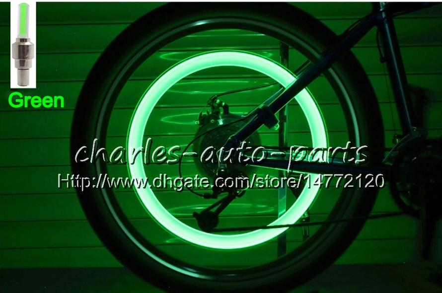 1USD LED Flash Tyre Light Bike Wheel Valve Cap Light Car Bike Bicycle Motorbicycle Motorcycle LED Wheel Tire lamp Car Light on sale