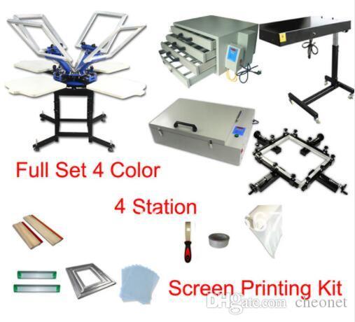 593e1b6e 2019 FAST Discount Full Set T Shirt Screen Printing Kit Press Printer  Machine Flash Dryer Expsoure Stretcher From Cheonet, $3436.24 | DHgate.Com