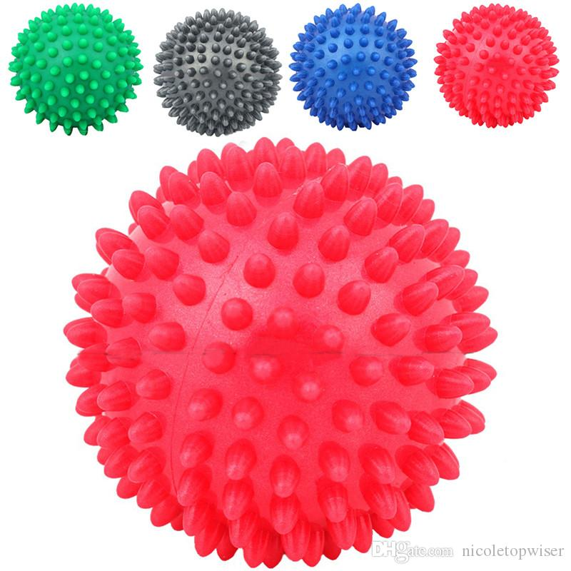 Sıcak Premium Masaj Topları, Firma Lacrosse Topu Seti veya Dikenli Rulo, Derin Doku Tetik Noktası, Ayak Masajı, Hareketlilik, Akupunktur, Terapi
