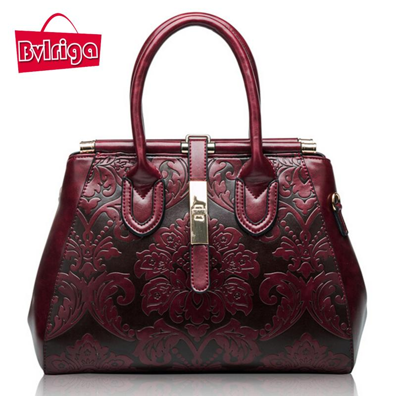 BVLRIGA Genuine Leather Bag Brands Retro Handbag Women Messenger Bags  Luxury Handbags Women Bags Designer Ladies Real Leather Leather Briefcase  Wholesale ... 0562005fbe9c7