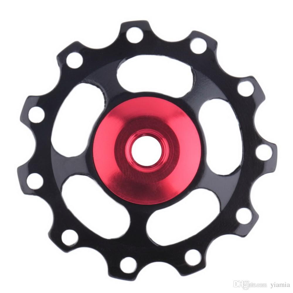 Aluminum Alloy Bicycle Rear Derailleur Jockey Wheel Road Mountain Bike Guide Roller Idler Pulley Part Cycling Bike Accessories 1