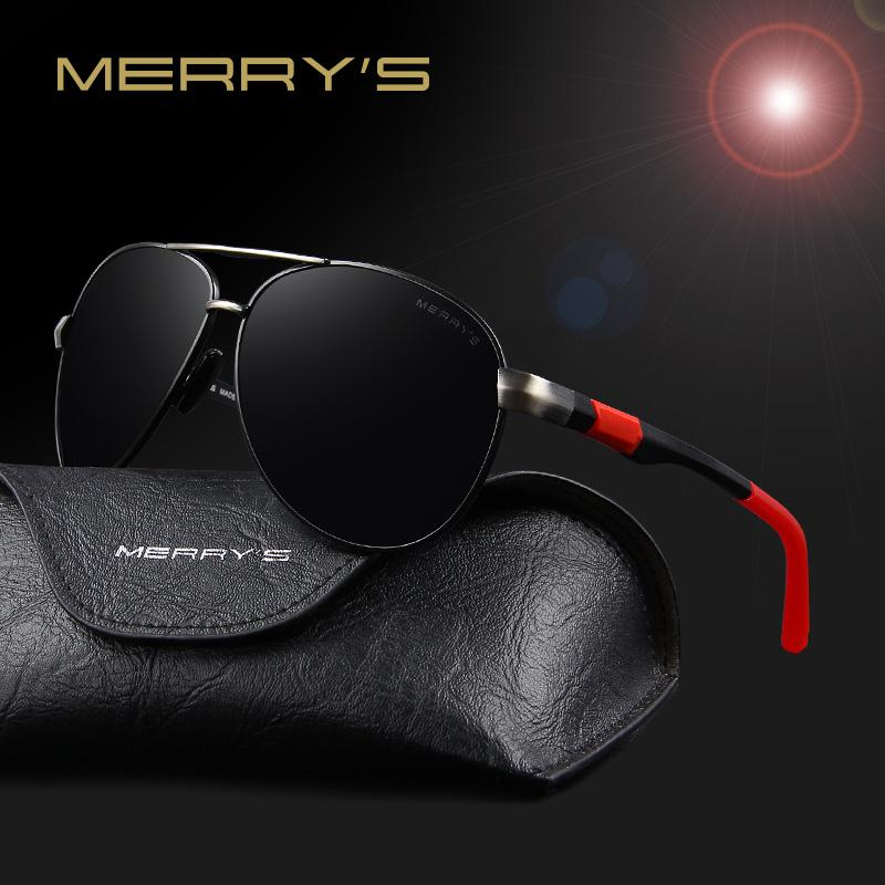 219cb4914bc6 Wholesale-MERRY'S 2016 Hot Selling Brand Sunglasses Men HD Polarized ...