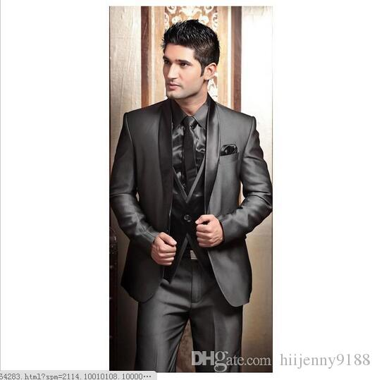 2017 wedding tuxedos for men modern best man suit grey formal suit 2017 wedding tuxedos for men modern best man suit grey formal suit groom tuxedo mens suit jacketpantstievesth mens wedding tux mens wedding tuxedos ideas junglespirit Image collections