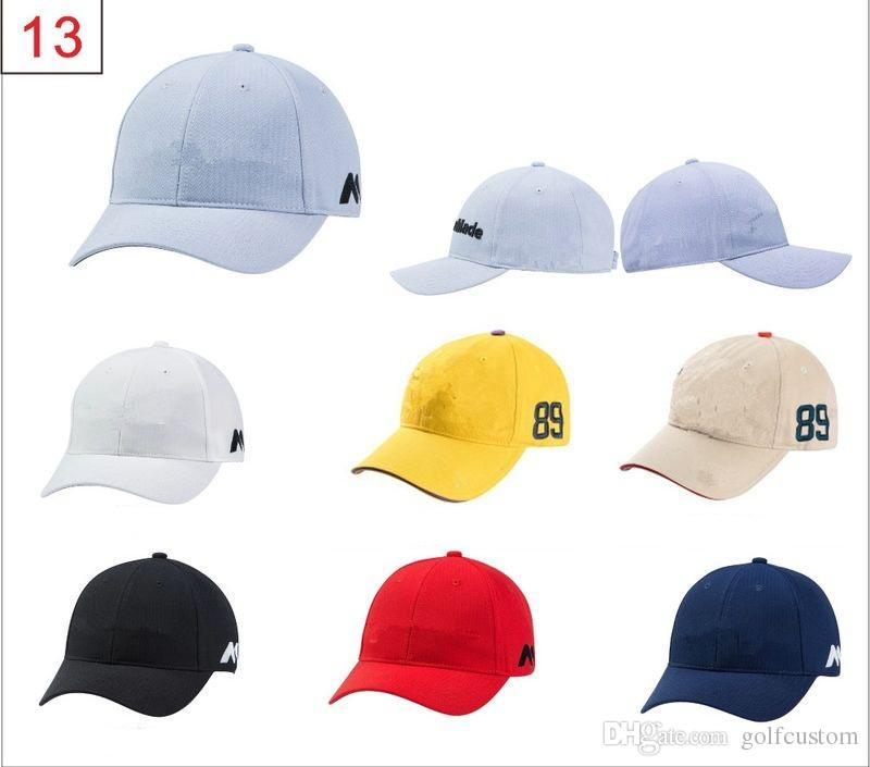 2019 Custom Logo 2016 Brand New Golf Caps Professional Cotton Golf Ball Cap  High Quality Sports Golf Hat Availeber Embroidered Own Logo From  Golfcustom ff3504146c4