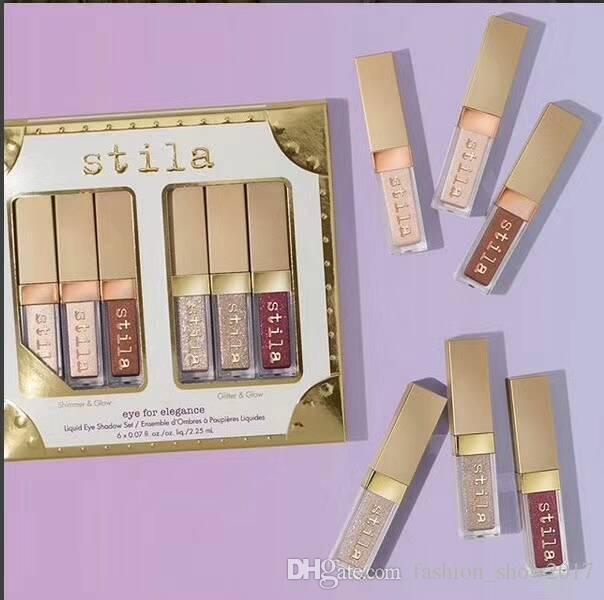 es Stilla Ojo para elegancia Maquillaje Líquido Líquido Liquid Set Cosmetics Tierra Color Eyeshadow Makeup Set