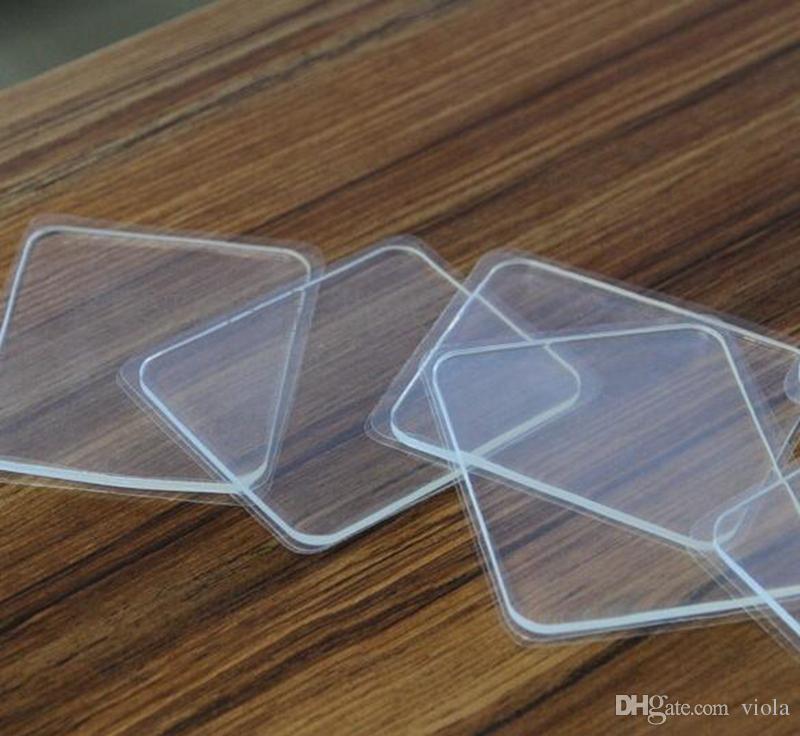 10 упак. премиум фиксировать сотовые колодки липкие анти-скольжения гель Pad придерживаться стекла / зеркала / доски / металл / кухонные шкафы плитка / автомобиль розничной упаковке