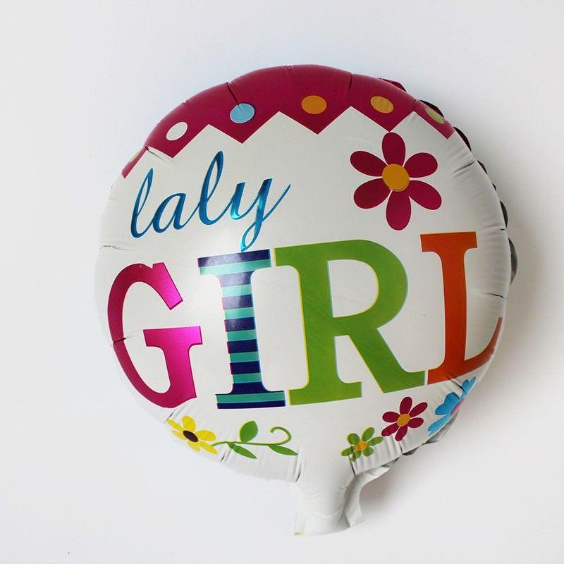 new design happy birthday 10inch mini cake balloon baby boy/girl foil ballons for birthday party supplies air globos