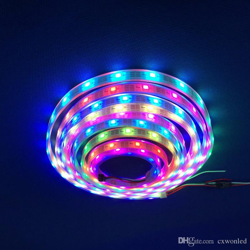 5m sk6812 pixels flexible led strip light white pcb waterproof smart 5m sk6812 pixels flexible led strip light white pcb waterproof smart ic 5050 rgb smd digital full color dc5v rgb led light strips outdoor led lighting aloadofball Gallery