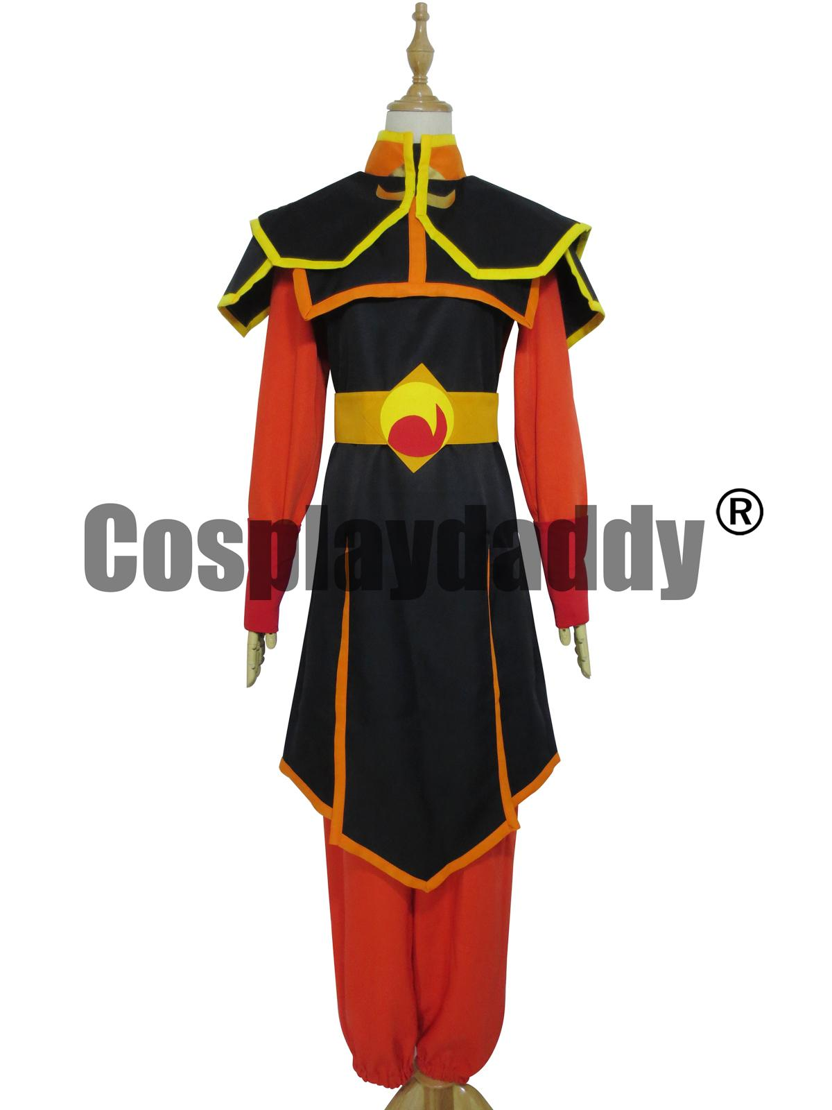 Azula Cosplay Costume From Avatar The Last Airbender ...