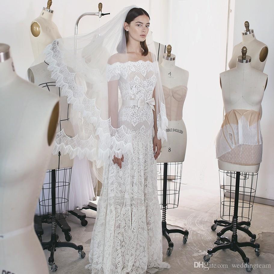 Discount 2017 lihi hod bohemian lace wedding dresses off for Lihi hod wedding dress for sale