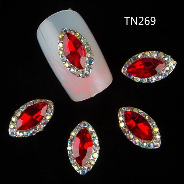 Wholesale 3d Nail Art Supplies Rhinestone Alloy Nails Decoration ...