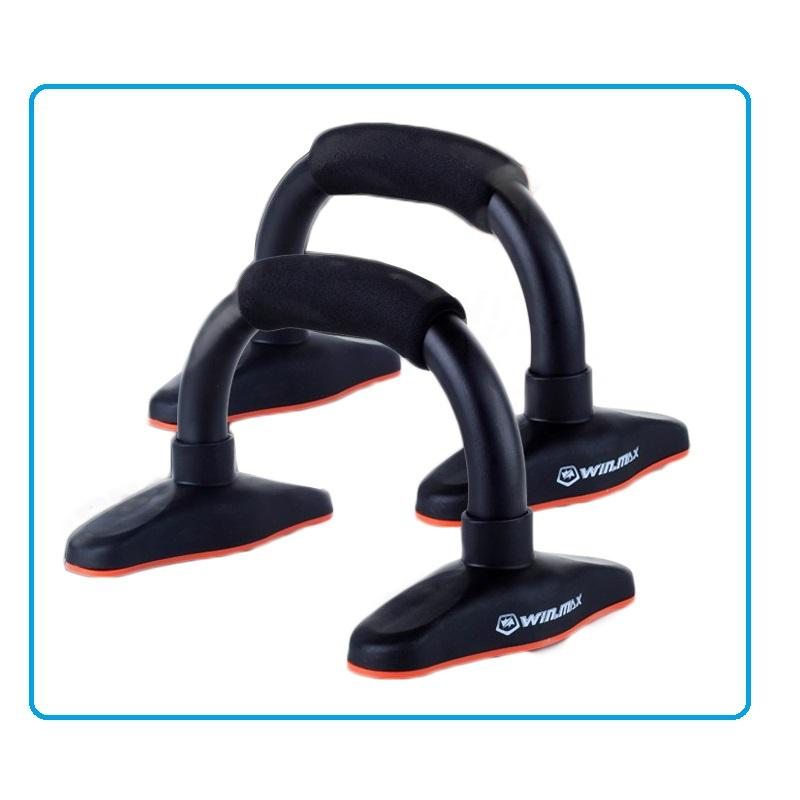 2017 Fashion Fitness Exercise Body Building Equipment Stainless Steel Push Up Bar Push Up Stands Fitness Equipments