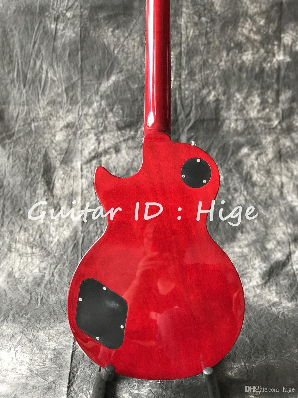 الصين الغيتار سلاش شهية vos اللون الأحمر الغيتار الكهربائي حار بيع تسليم سريع الغيتار الشحن المجاني في الأسهم