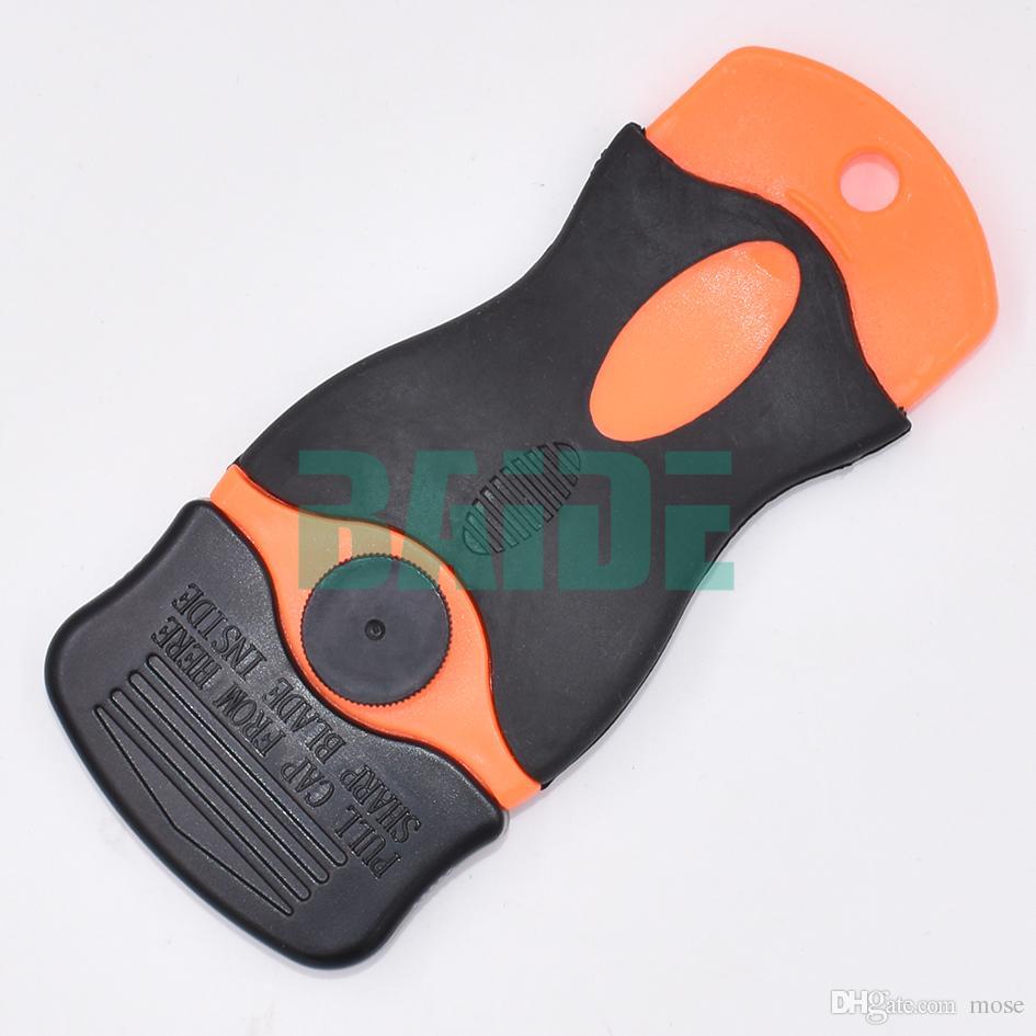 Écran de téléphone portable Enlever le couteau à colle Lame en plastique Démonter Nettoyer le grattoir Pelle à polir OCA Colle UV Colle à gratter Cutter /