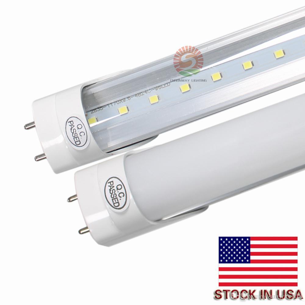 4ft Led T8 Light 22w Smd2835 Lamp Bulb 4 Feet 1 2m 1200mm 85 265v Lighting Fluorescent 3 Year Warranty High