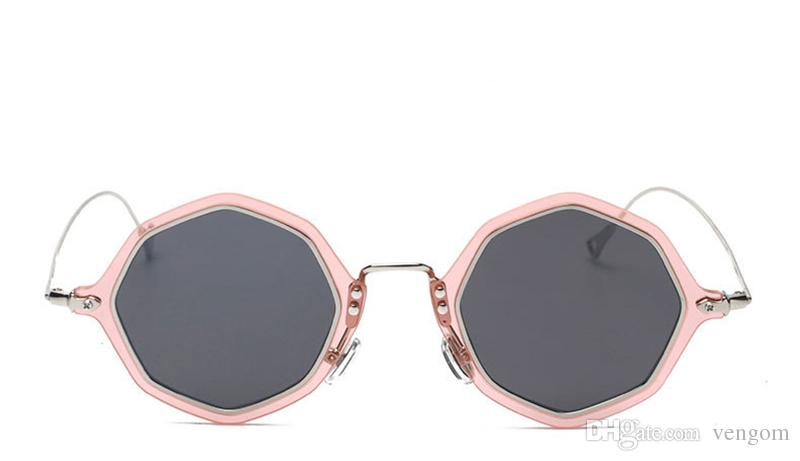89be6db647 New Fashion Brand Women Oversized Rimless Sunglasses Ladies Large ...