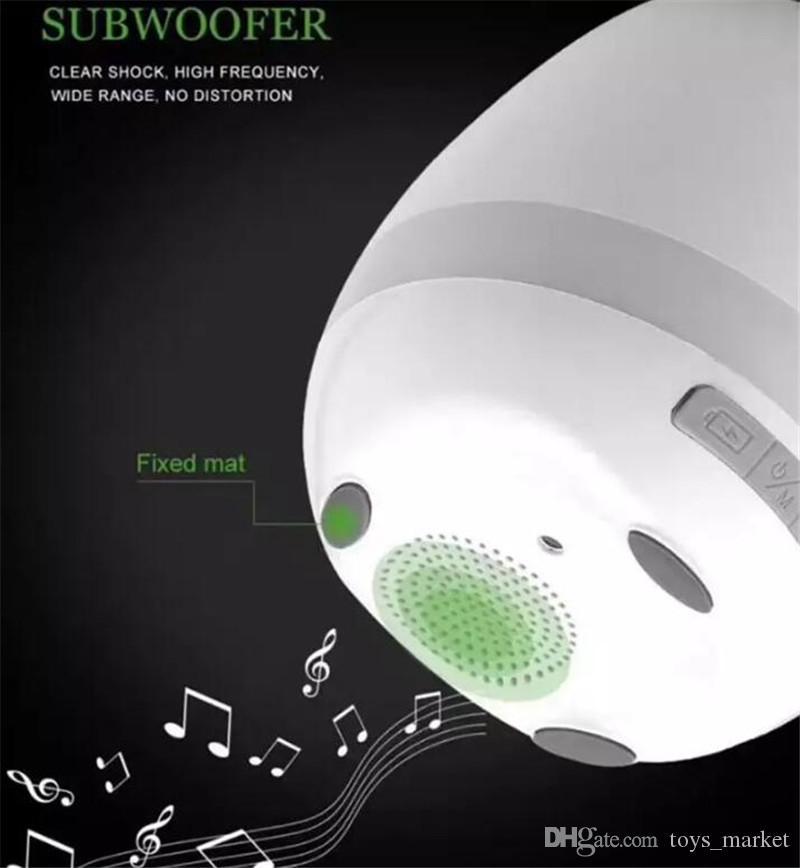 Toque Sem Fio Bluetooth Flowerpot Mini Subwoofer Speaker com LED Múltiplas Cores Casa Inteligente Planta Brinquedo Do Escritório de Música