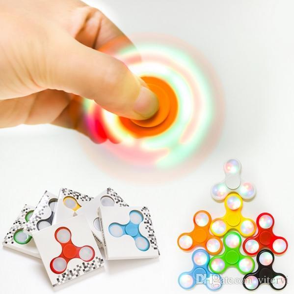 Led Light Fid Spinner Led Hand Spinner Fingertip De pression