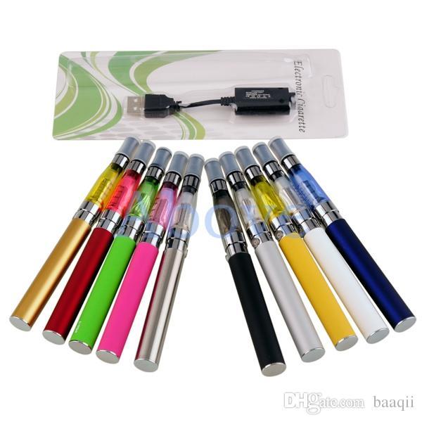 Kit iniciador Ego de alta calidad CE4 atomizador Kit cigarrillo electrónico e cig 900mah 1100mah EGO-T batería blister caso Clearomizer E-cigarette