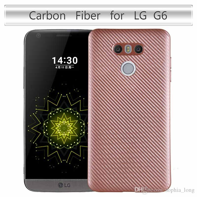 TPU Cover for LG G6 Case Soft Carbon Cases for LG G6 Cases 5.7 inch Luxury Cell Phone Protector