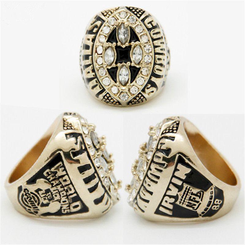 2017 Hot Sale Vintage Mens Gold Rings 1994 Dallas Cowboys Champion
