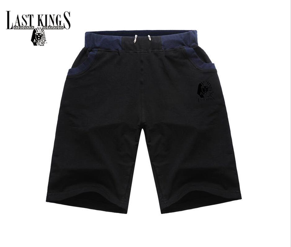H08# s-5xl New Last Kings short Mens clothing Elastic waist pants colorful letter style