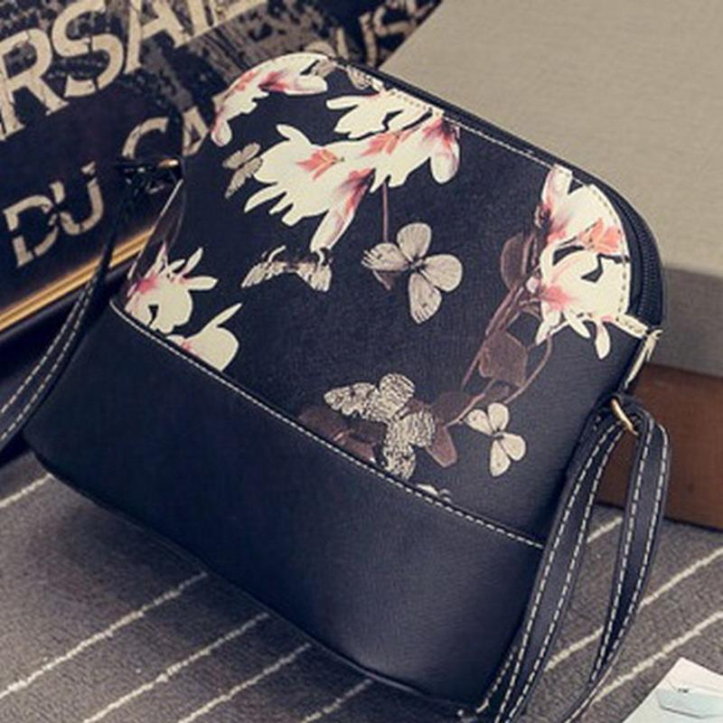 c1c49af90061 Wholesale-Korean Floral Printed Small Ladies Shell Bag Women ...